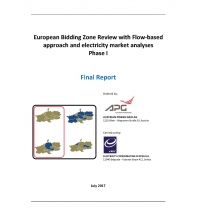 European Bidding Zone Review with Flow-based Approach and Electricity Market Analyses