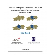 European Bidding Zone Review with Flow-based Approach and Electricity Market Analyses (Phase III)