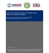 Black Sea Regional Transmission System Planning Project (BSTP): Reactive Power and Voltage Control Study for BSTP Region; BSTP Models Update; BSTP Reactive Power Workshop; System Adequacy Study