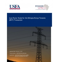 Eastern Africa Regional Transmission Planning Partnership (EATP); Phase II: Eastern Africa Regional Load Flow Training and Analyses; TASK 4: Ethiopia-Kenya-Tanzania (EKT) Loss Factor Study