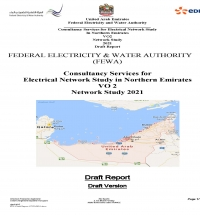 Network Studies for the Connection of two Power Plants in Ras Al Khaima, Volume 2 of the Transmission Master Plan for FEWA