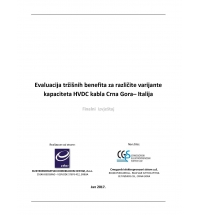 Evaluation of Market Benefits for Different Transfer Capacity Values of HVDC Link Montenegro – Italy