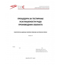 Technical Support for Creation of Testing Protocols in the Connection Process