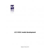 Development of a LCC HVDC Model in Siemens PSS/E Format