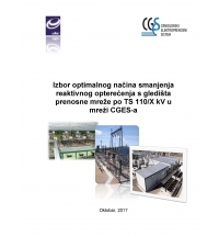 An Optimal Way of Reducing the Reactive Power within the Transmission Network by Using 110/X kV Substations in the Power System of CGES