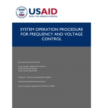 Review of Frequency and Voltage Control Concepts in the Power System of Rwanda