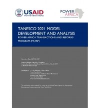 Support to the Launch of Transmission System Organization in Tanzania, Phase II: Training, Model Development and Analysis