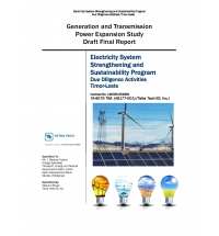 The Impact of Demand Growth and Increasing Penetration of Renewable Generation into the Network of Timor-Leste