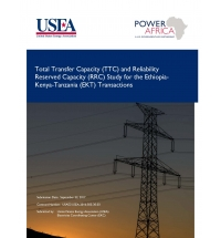 TTC and RRC Study for the Ethiopia-Kenya-Tanzania (EKT) Transactions