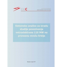 Connection Study of Wind Power Plant 116MW to the Transmission Network of Serbia