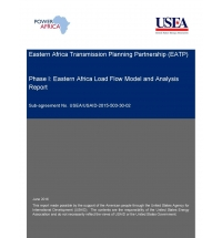 Eastern Africa Regional Transmission Planning Partnership (EATP); Phase I: Eastern Africa Regional Load Flow Model and Analyses